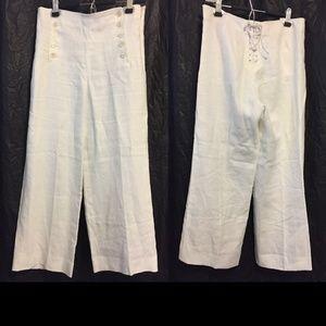 J. Crew Pants - J. Crew Sailor Pant in Heavy Linen